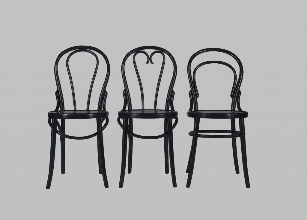 Krzesła gięte zRadomska Thonet